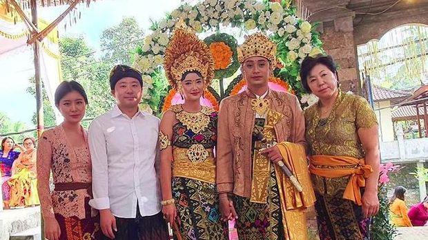Wanita Korea Menikah dengan Pria Bali