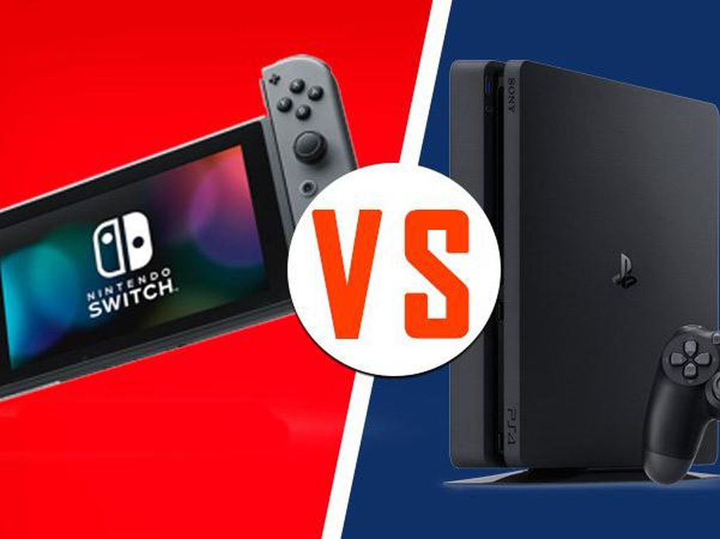 Nintendo Switch vs PS4 di Musim Pandemi, Siapa Juaranya?