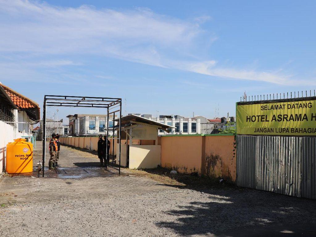 Disulap Bak Hotel, Asrama Haji Surabaya Siap Tampung OTG