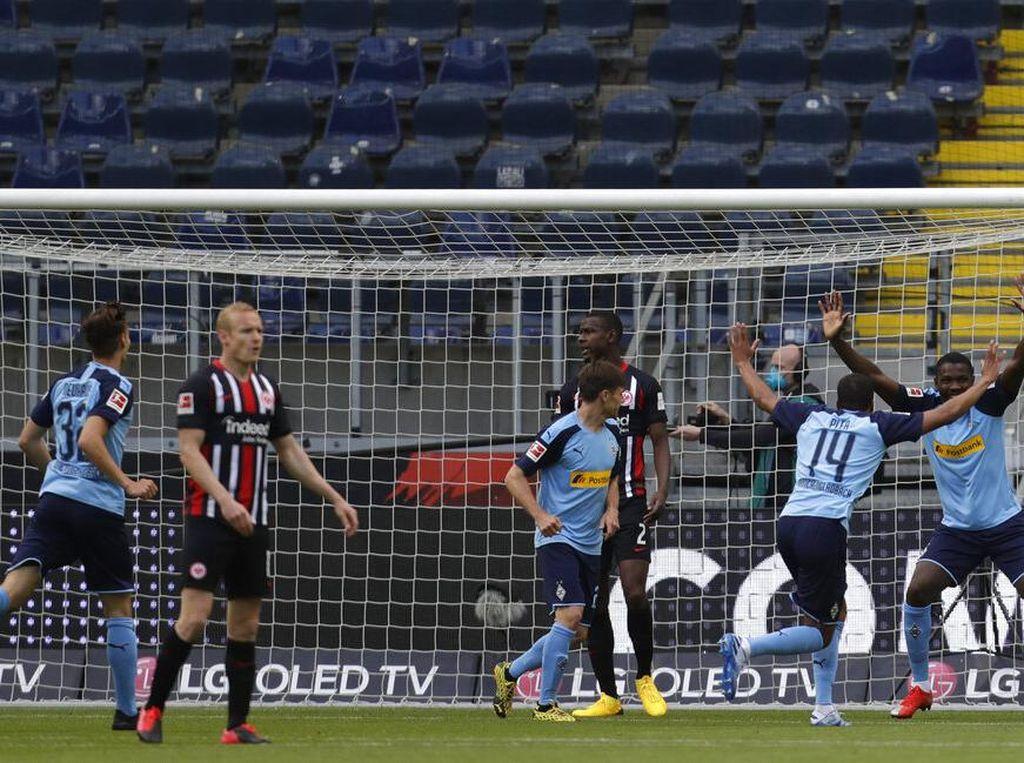 Hasil Liga Jerman: Kalahkan Frankfurt, Gladbach Panaskan 4 Besar