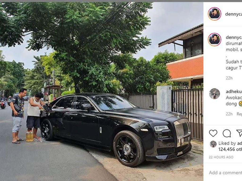 Bikin Heboh! Prank Rolls-Royce Denny Cagur untuk Raffi Ahmad