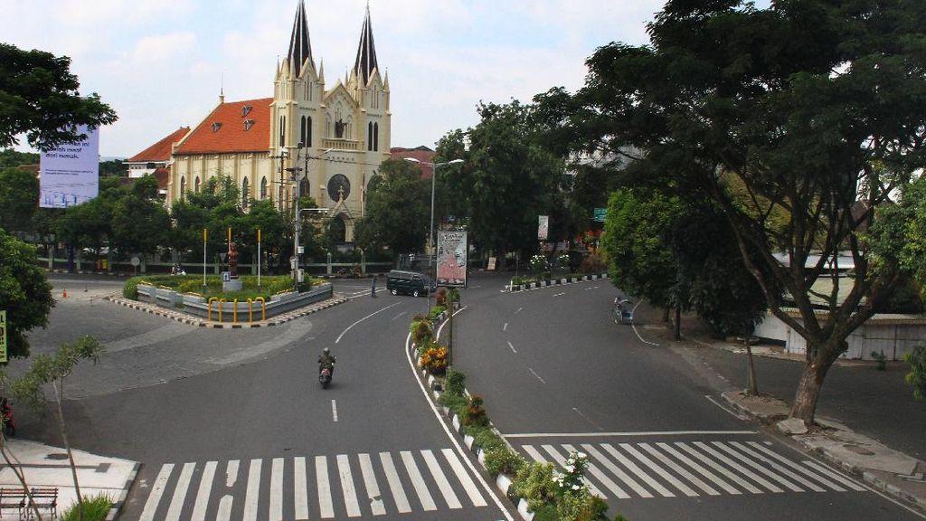PSBB Hari Pertama, Jalan di Kota Malang Lengang
