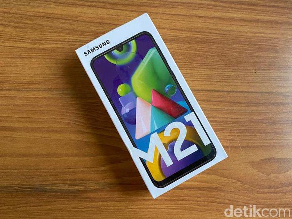 Galaxy M21 Bawa Baterai 6.000 mAh Harga Rp 3 Juta