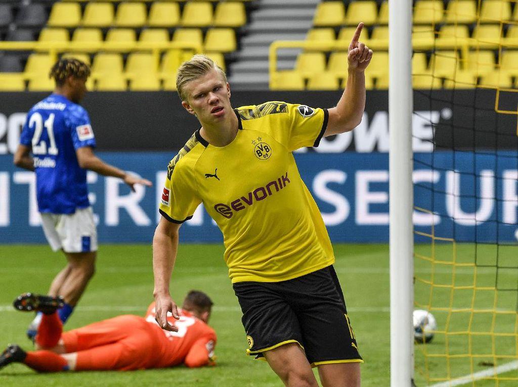 Gol Haaland Jadi Pembuka Lagi Bundesliga