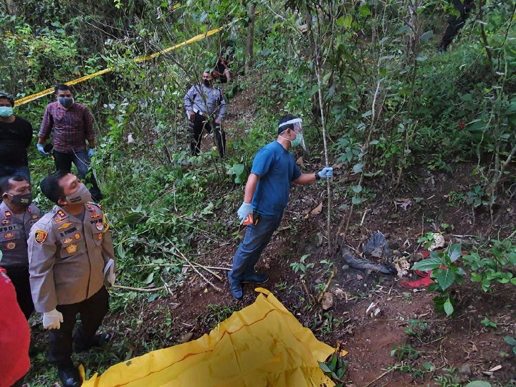 Polisi Temukan Barang-barang Ini di Lokasi Temuan Kerangka di Wonogiri