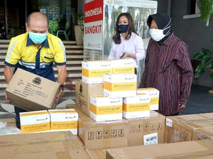 Terima Bantuan Alkes, Pemkot Surabaya Segera Lakukan Rapid Test Massal