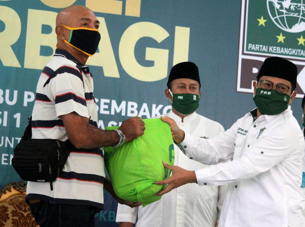 300 Ribu Sembako & 1 Juta Masker PKB Akan Dibagikan ke Masyarakat