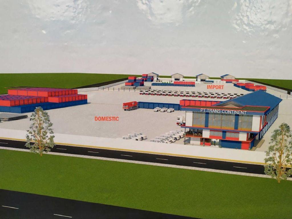 Investor Pusat Logistik Berikat di Kawasan Industri Aceh Tarik Alat Kerja