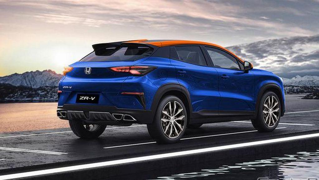 Perkiraan Desain Honda ZR-V, Siap Tantang Toyota Raize dan Daihatsu Rocky?