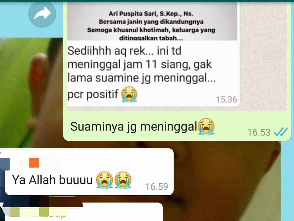Viral Suami Perawat RS Royal Surabaya Menyusul Meninggal Ternyata Hoaks