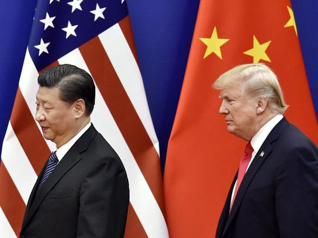 Trump Tak Berminat Lagi Bahas Perdagangan dengan China Gegara Corona