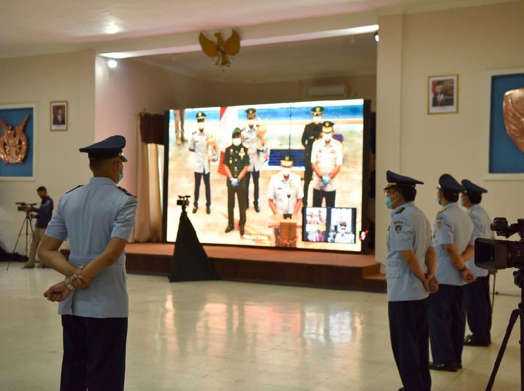 KSAU Lantik 45 Penerbang TNI via Teleconference