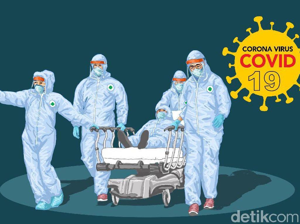 1 ASN Dinas Kesehatan DIY Meninggal Positif Corona