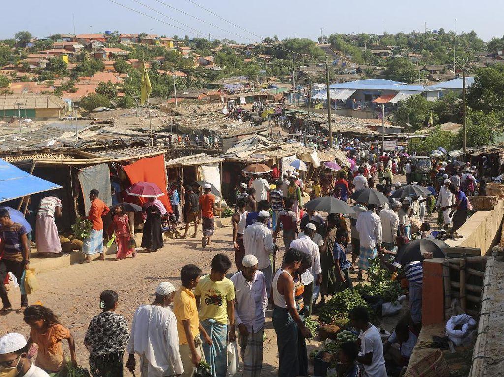 Donor Internasional Sumbang Rp 8,8 T untuk Rohingya, AS Terbesar