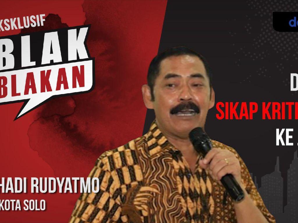 Blak-blakan Wali Kota Solo Kritis Terhadap Jokowi