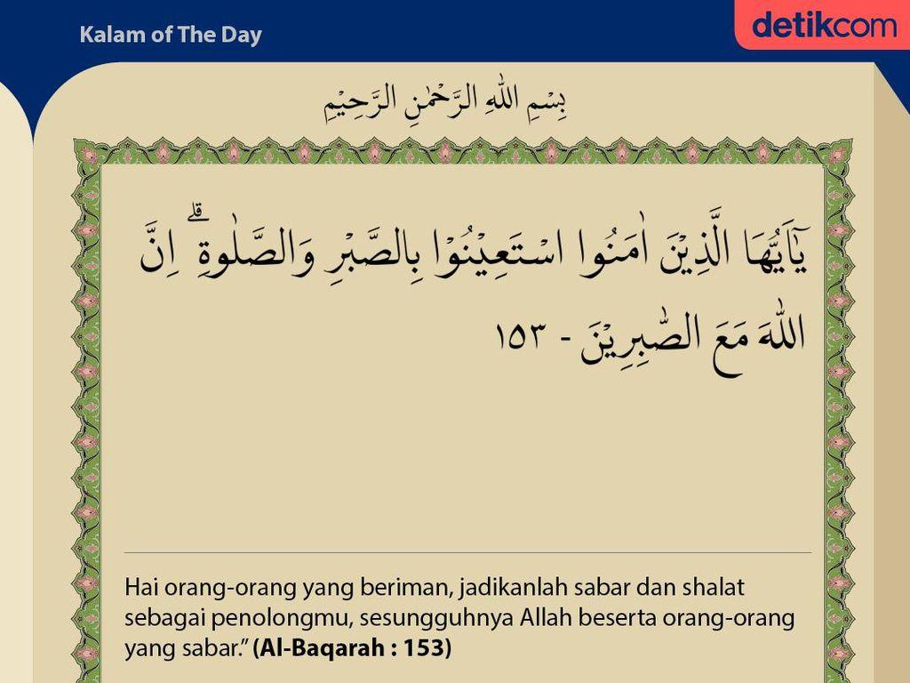 Surat Al-Baqarah 153: Allah SWT Bersama Orang-orang yang Sabar