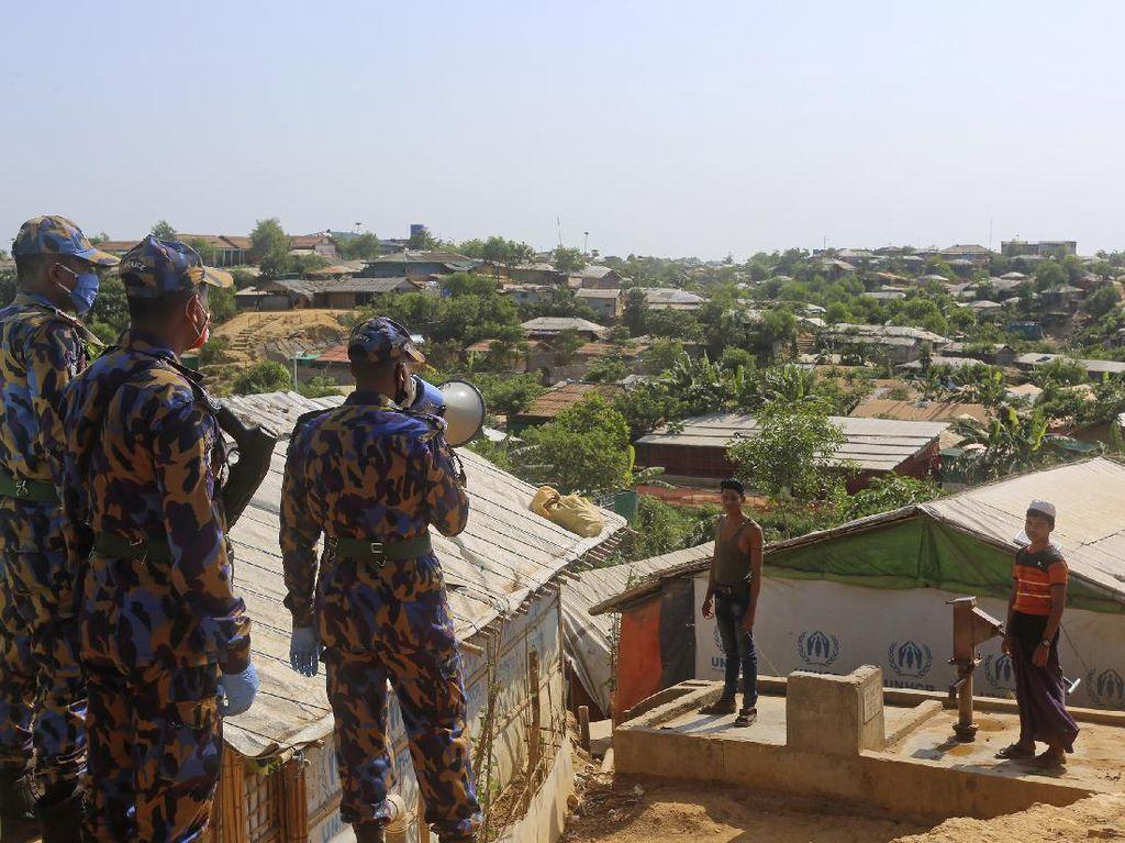 Bentrok Geng Narkoba, Bangladesh Kirim Pasukan ke Kamp Pengungsi Rohingya