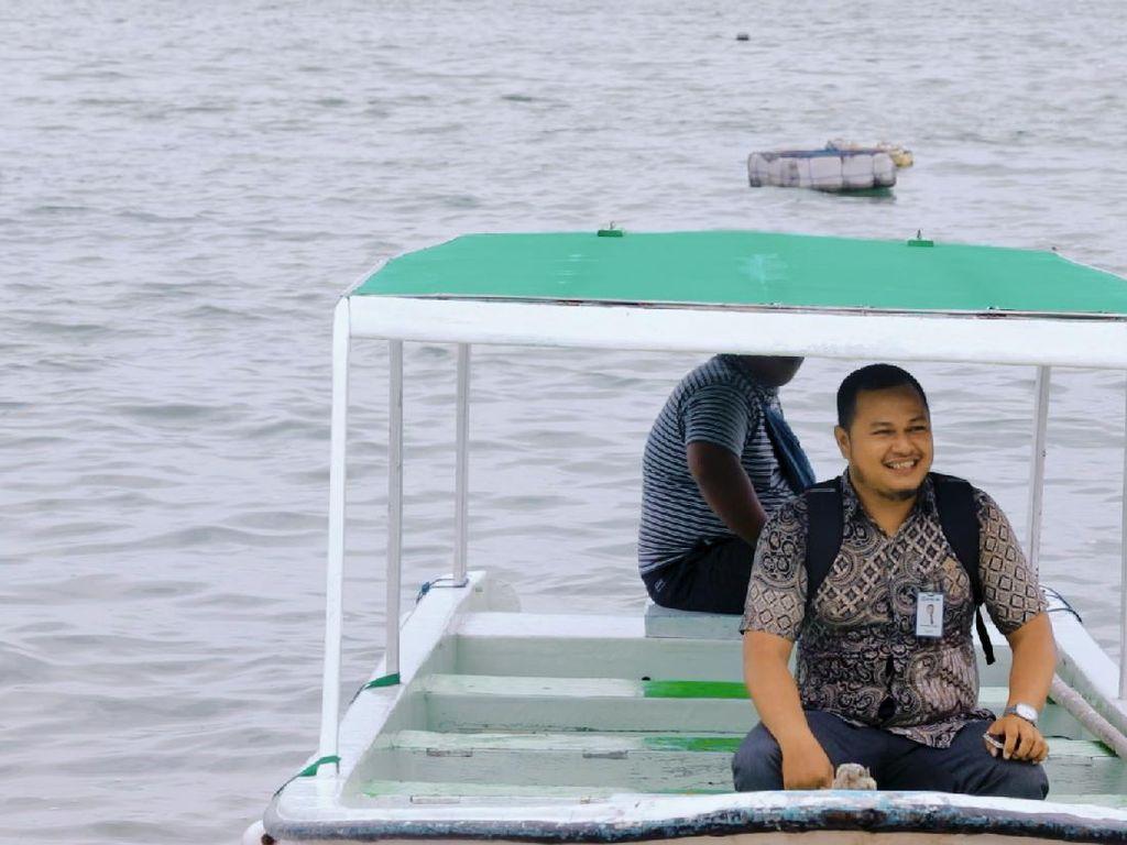 Kejar Nasabah, Mantri Bank di Makassar Rela Menyeberangi Pulau
