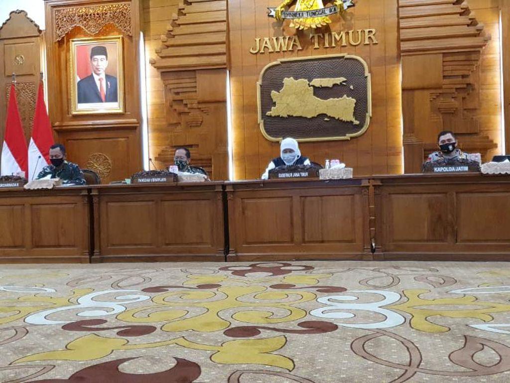 Gubernur Khofifah akan Cabut Izin Salat Id di Masjid Al Akbar Surabaya