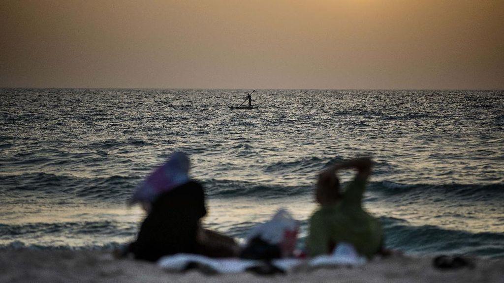 Cara Asyik Warga Palestina Ngabuburit Menunggu Buka Puasa