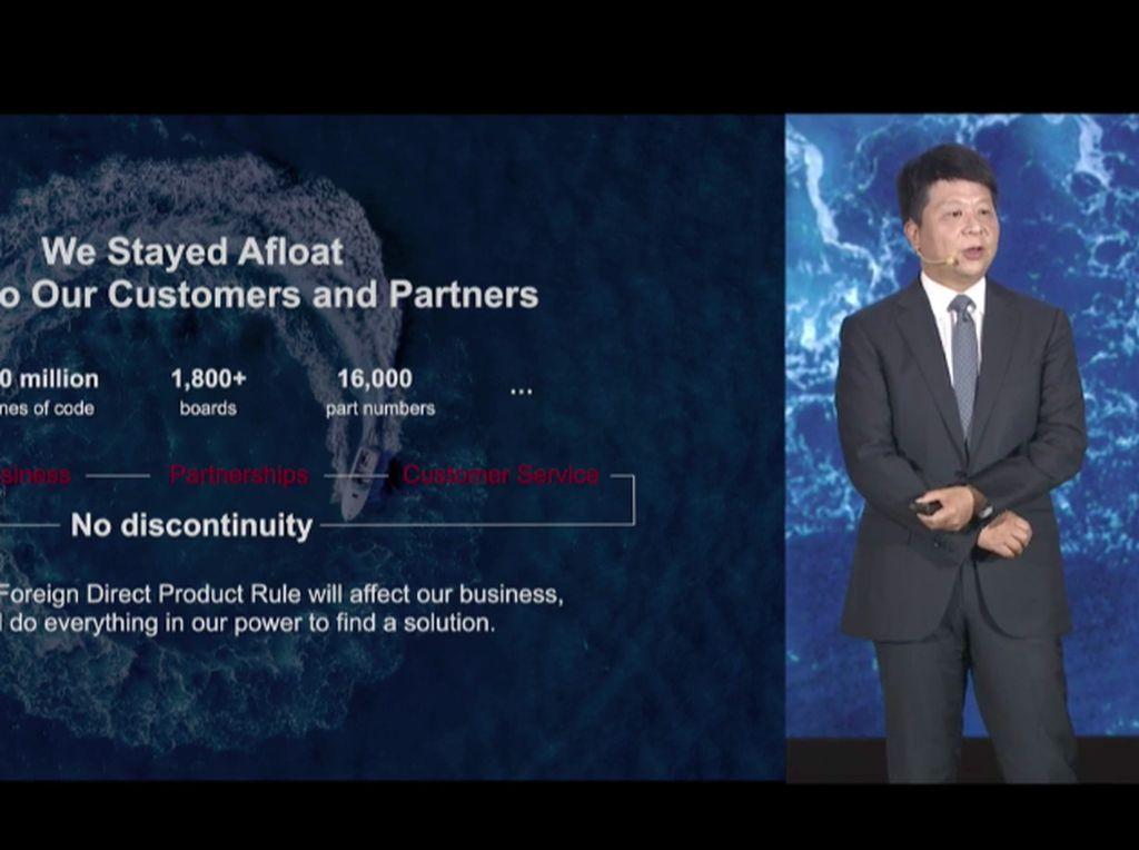 Huawei: Keputusan Pemerintah Amerika Jahat!