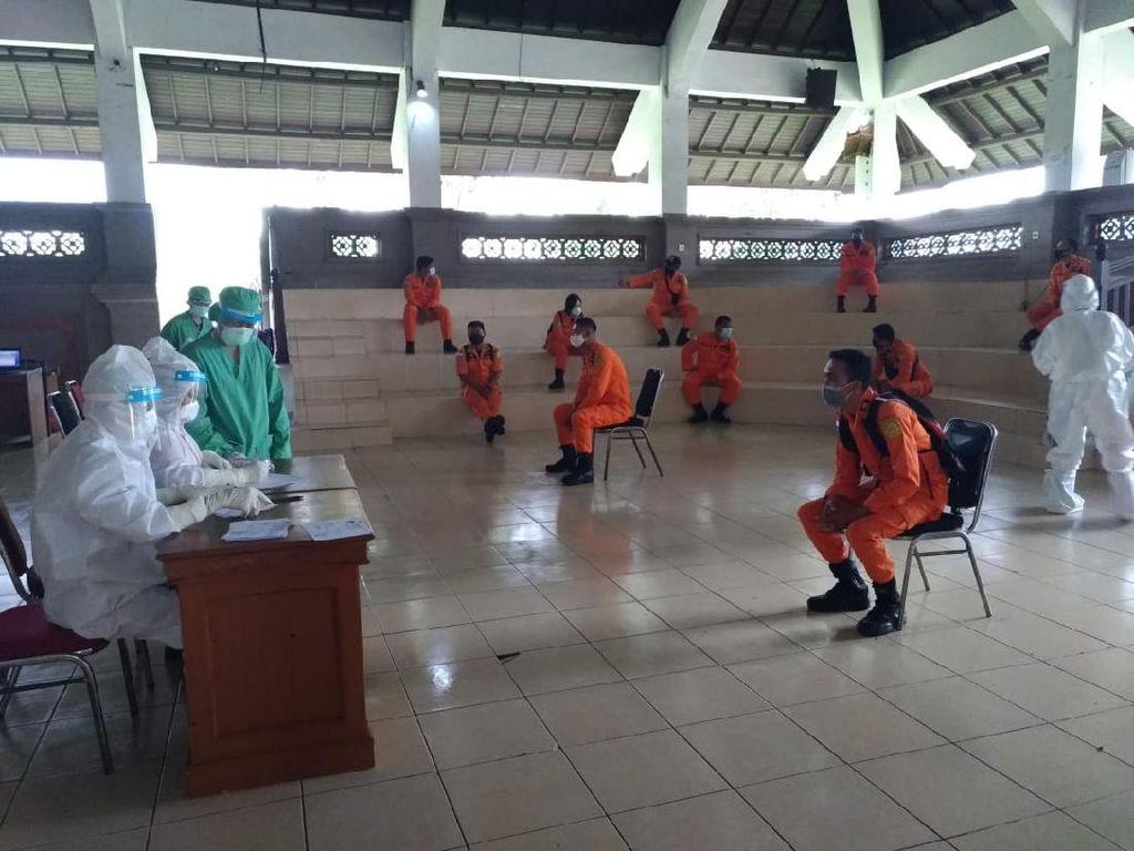 Antisipasi COVID-19, Jajaran Basarnas Bali Jalani Rapid Test
