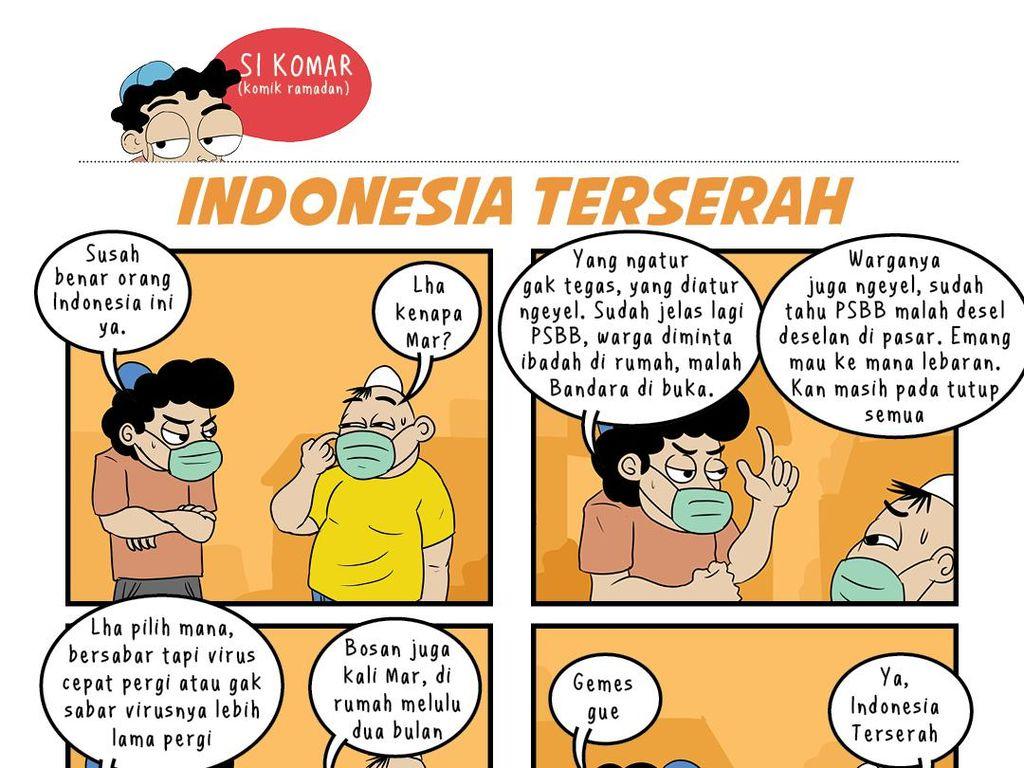 Komar dan Udin: Indonesia Terserah
