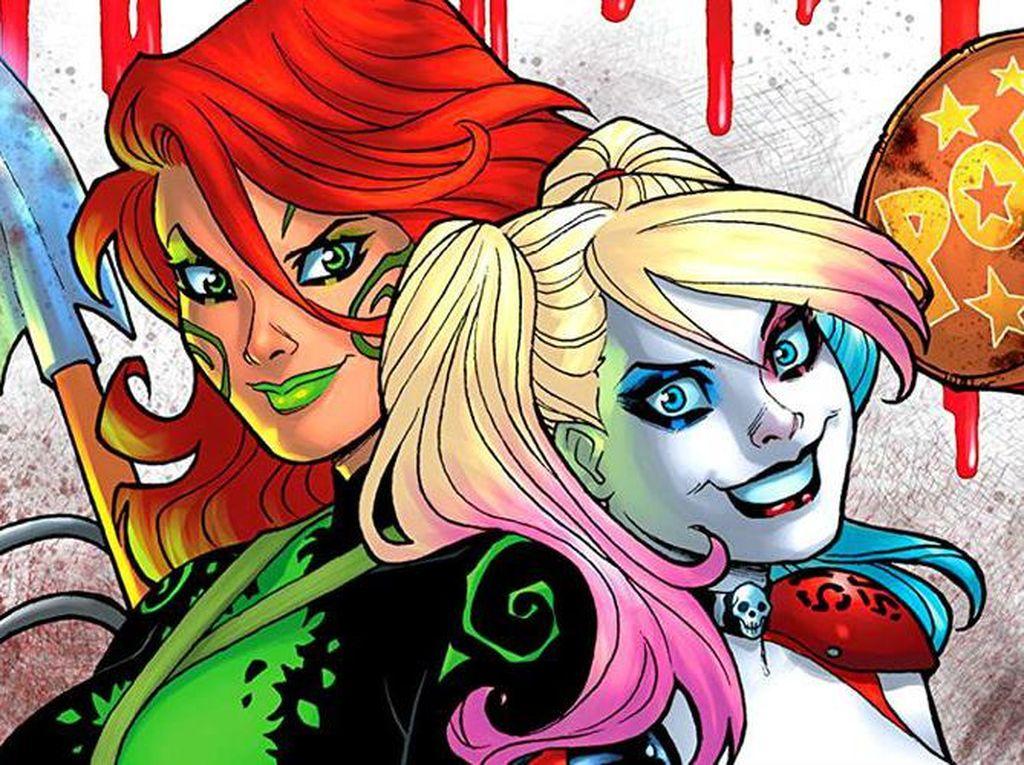 Harley Quinn Reunian Bareng Poison Ivy untuk Komik Final
