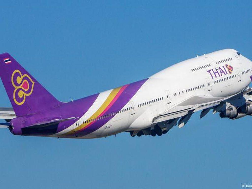 Setelah Jual Odading, Thai Airways Bikin Penerbangan ke Antah-berantah