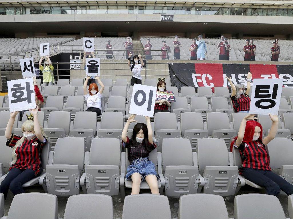 Imbas Boneka Seks di Stadion, FC Seoul Terancam Sanksi Berat