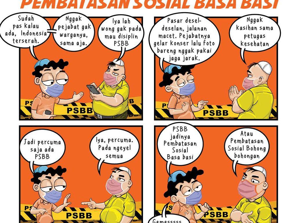 Pembatasan Sosial Basa Basi