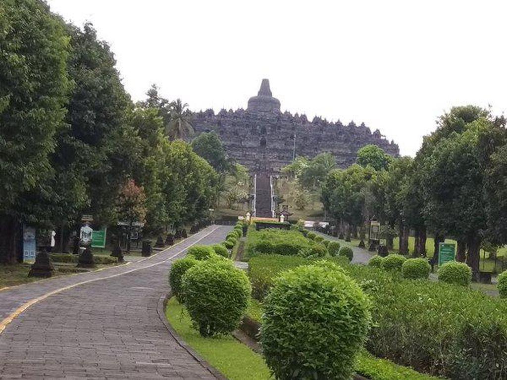 Pandemi Corona, Borobudur Kehilangan Pendapatan Rp 150 Miliar