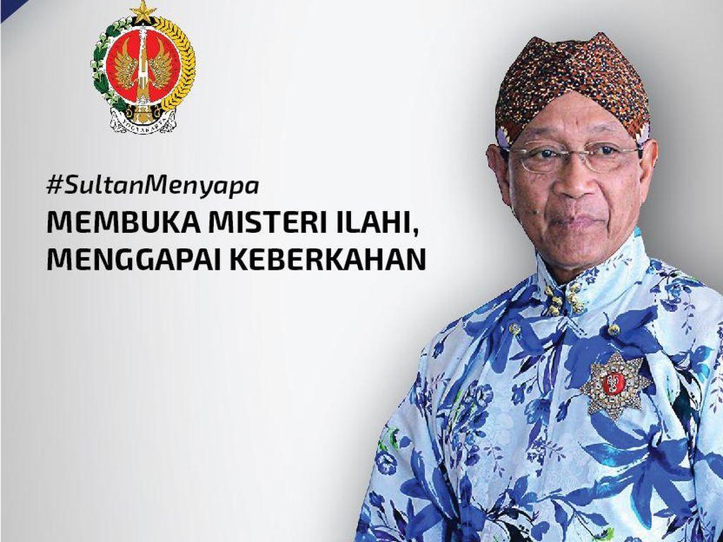 Sultan HB X Lontarkan Ide Isolasi Lokal untuk Hadang Penularan Corona