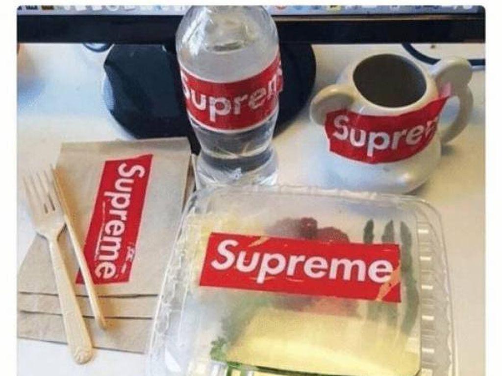 Meme Makanan Serba Supreme, Ada Lontong hingga Bakso Jutaan Rupiah