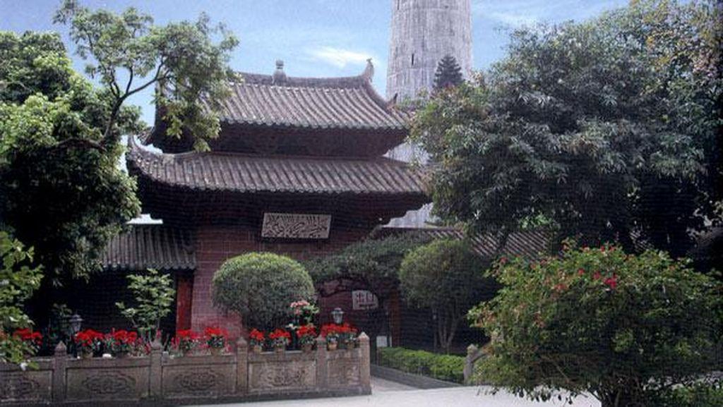 Potret Masjid Tertua di China yang Dibangun Sahabat Rasulullah SAW
