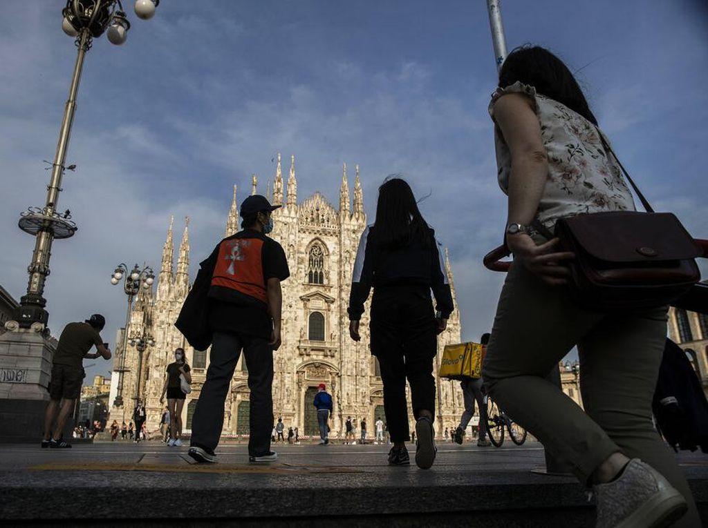 Italia Pertimbangkan Pembatasan Ketat saat Libur Natal dan Tahun Baru