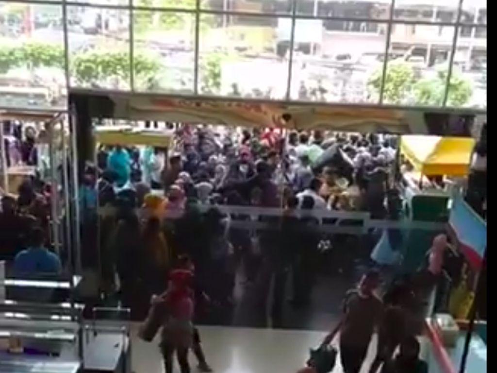 Video Mal CBD Ciledug Diserbu Pengunjung Viral, Satpol PP Cek Lokasi