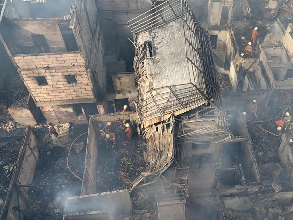 Kebakaran di Tambora Subuh Tadi, Hanguskan 97 Unit Rumah