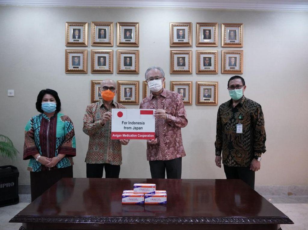 Bantu Tangani Corona, Pemerintah Jepang Kirim 12 Ribu Butir Avigan ke RI