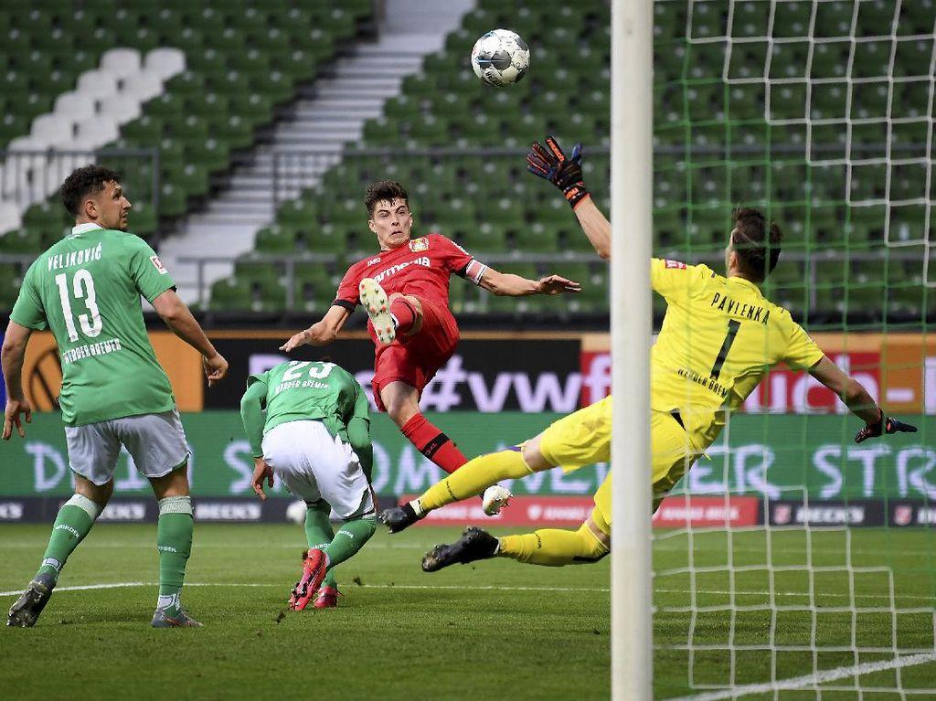 Kai Havertz Dua Gol, Leverkusen Gebuk Bremen 4-1