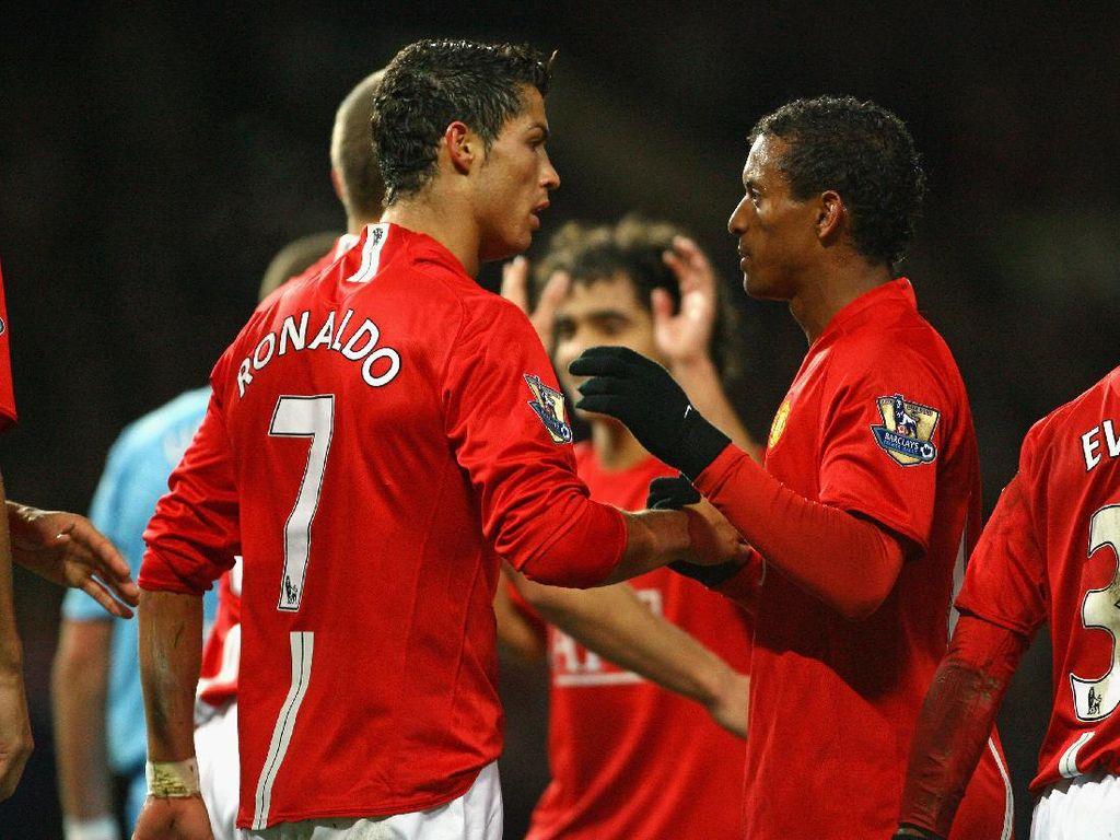 Nani Ungkap Momen Ronaldo Ingin Tinggalkan MU