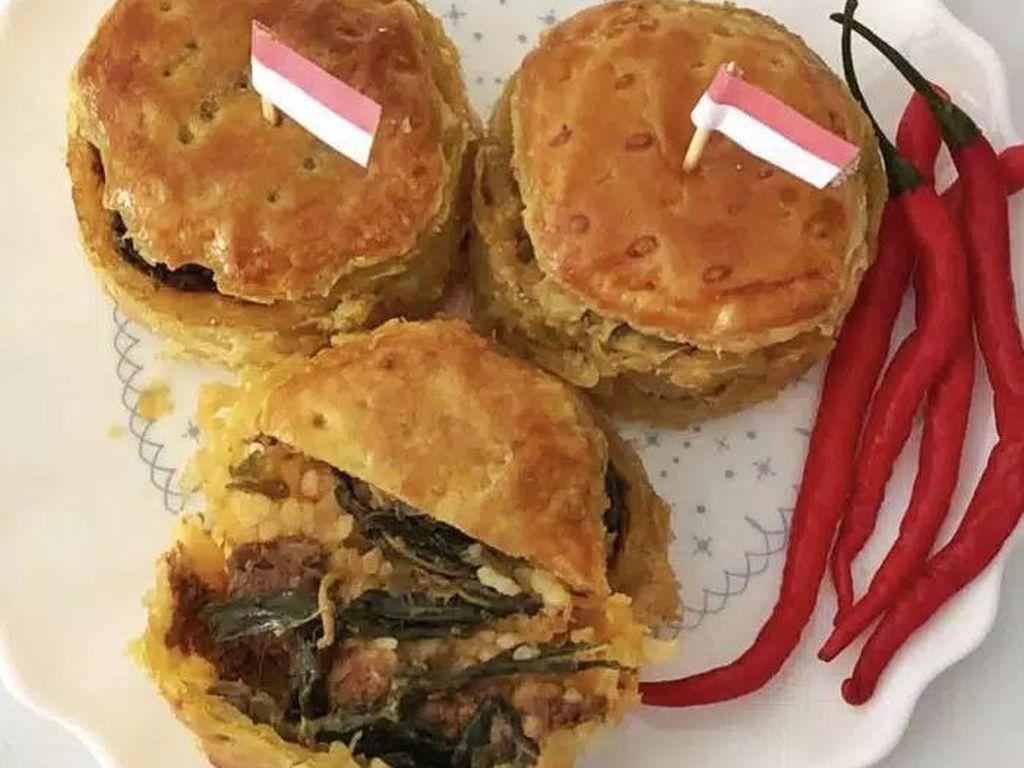 Heboh Ada Nasi Padang Berbentuk Pie Dijual Online