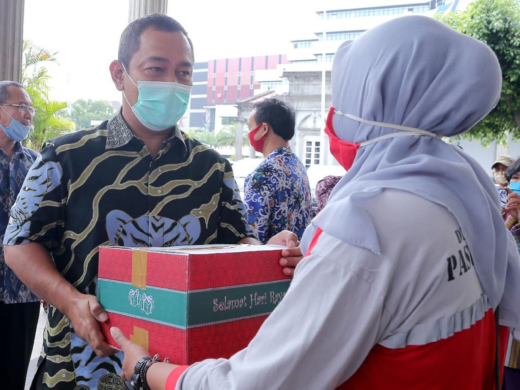 Ribuan Tenaga Harian Lepas Dapat Bantuan dari Pemkot Semarang