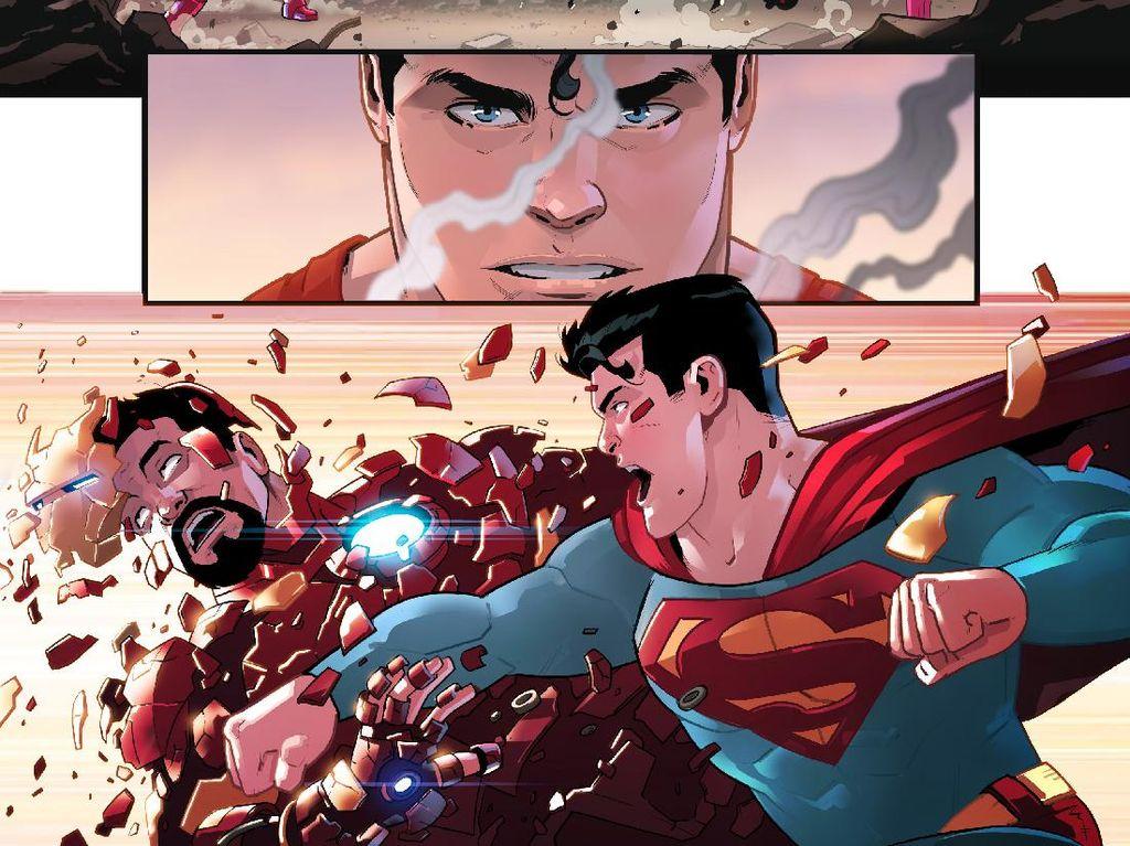 Superhero Marvel dan DC Bersatu?