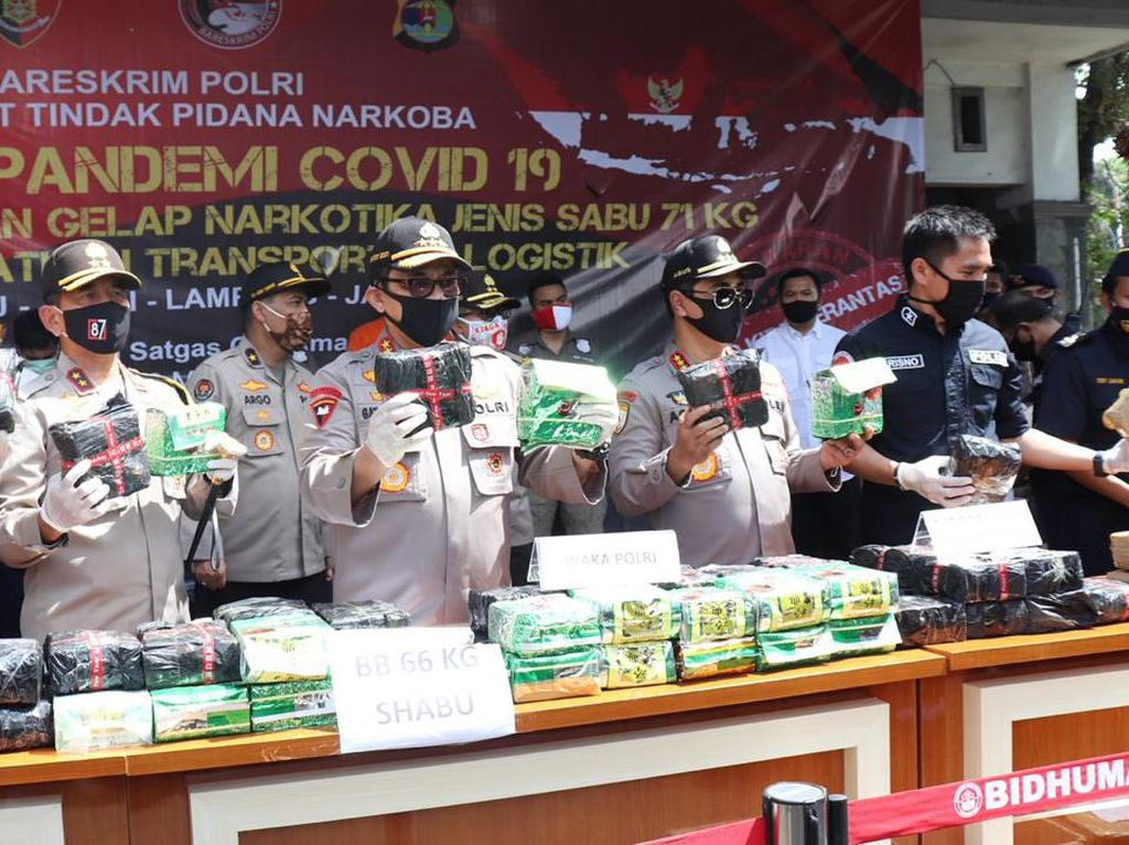 71 Kg Sabu yang Diselundupkan dari Bakauheuni Disimpan di Safety Box