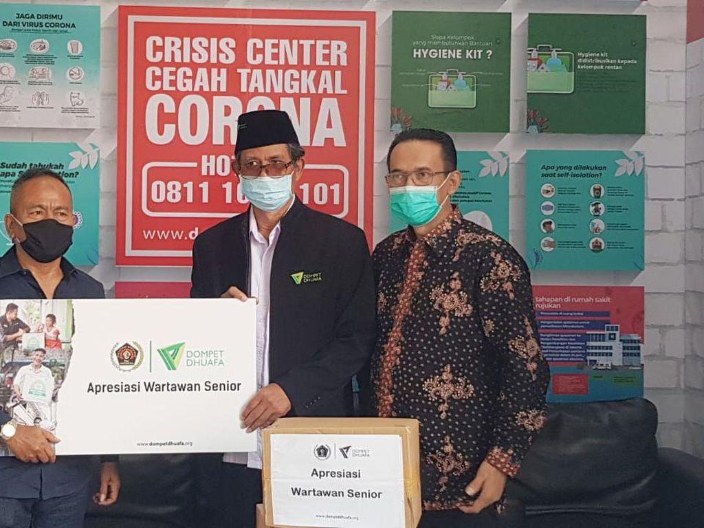 Dompet Dhuafa dan PWI Pusat Bantu Wartawan Terdampak COVID-19