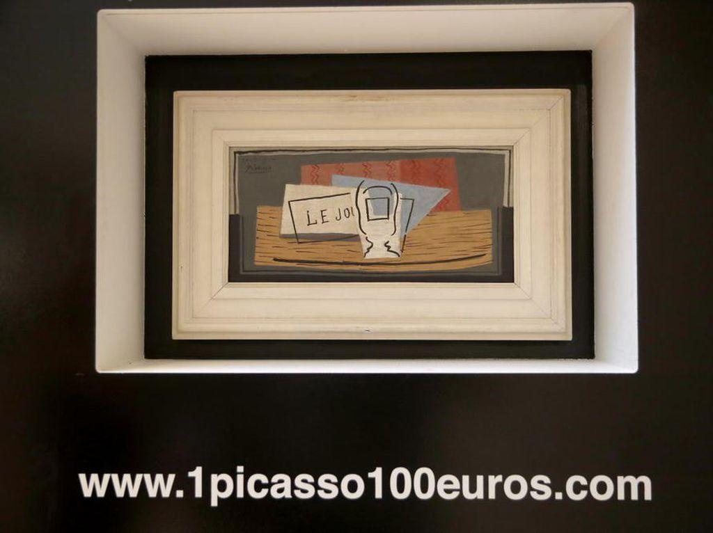 Perempuan Italia Beruntung Dapat Lukisan Picasso Seharga Rp 1,6 Juta