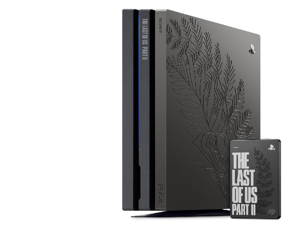Ini Dia, PS4 Pro Edisi The Last of Us Part II