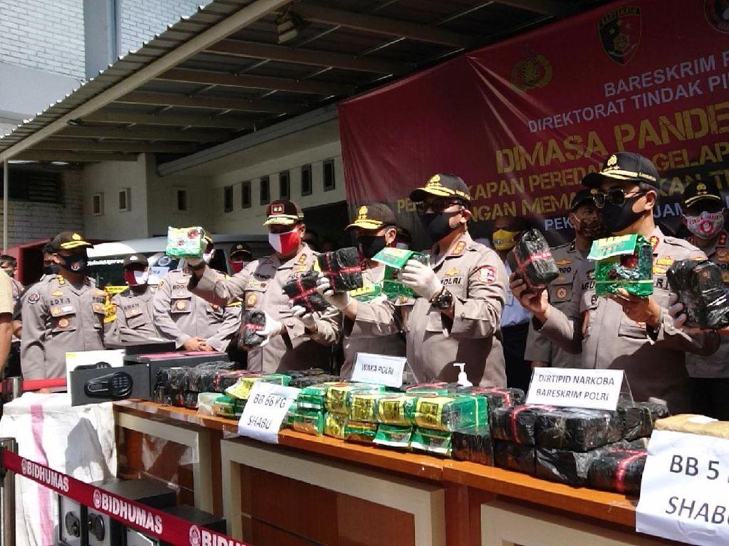 Ada 2 Tersangka Penyelundupan 66 Kg Sabu ke Jakarta, 3 Pelaku Lain Diburu
