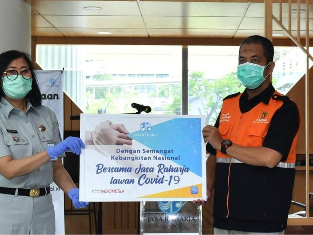 Jasa Raharja Salurkan Hasil Donasi Manajemen dan Pegawai ke Baznas